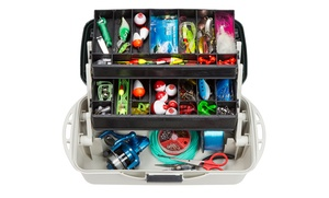 "Wakeman Fishing 14"" Tackle Box: Wakeman Fishing 14"" Tackle Box"
