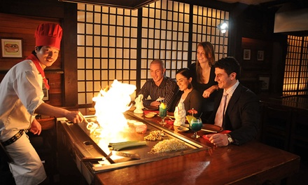Hibachi Meal for Two or Four at Kobe Japanese Steak and Seafood House (Up to 45% Off)