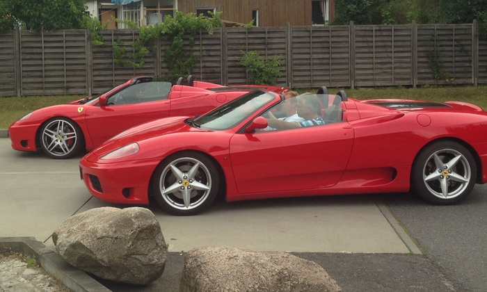 Red Devil Racing - Mehrere Standorte: 30, 60, 90 oder 120 Min. Ferrari selber fahren inkl. Einweisung bei Red Devil Racing (bis zu 60% sparen*)
