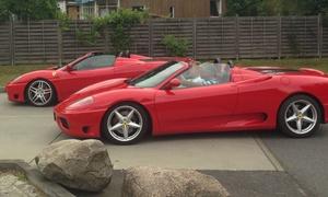 Red Devil Racing: 30, 60, 90 oder 120 Min. Ferrari selber fahren inkl. Einweisung bei Red Devil Racing (bis zu 60% sparen*)