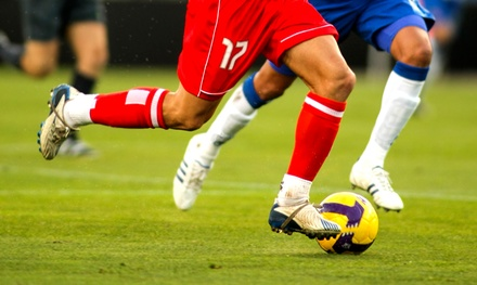 Adult Co-Ed Indoor Turf Soccer League on Saturday or Sunday from Chicago Sport and Social Club (Up to 50% Off)