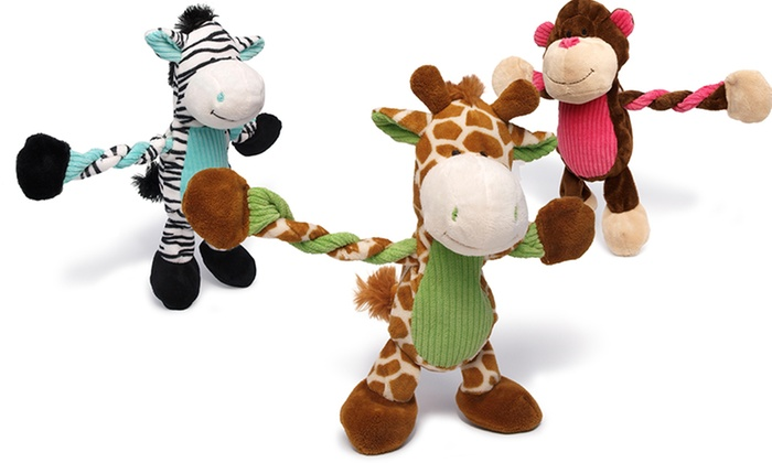 Charming Pets Pulleez Dog Toys: Charming Pets Pulleez Dog Toy. Multiple Toy Designs Available.