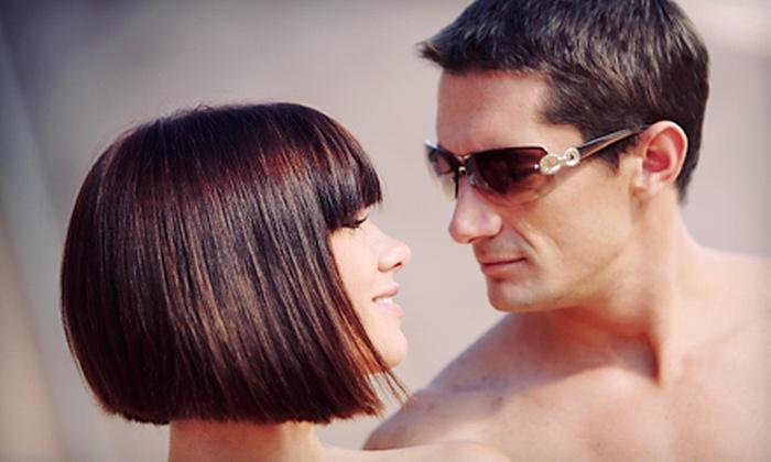 Jacob Anthony Salon - Erin Mills: Haircut Packages for Women or Men at Jacob Anthony Salon (Up to 77% Off)