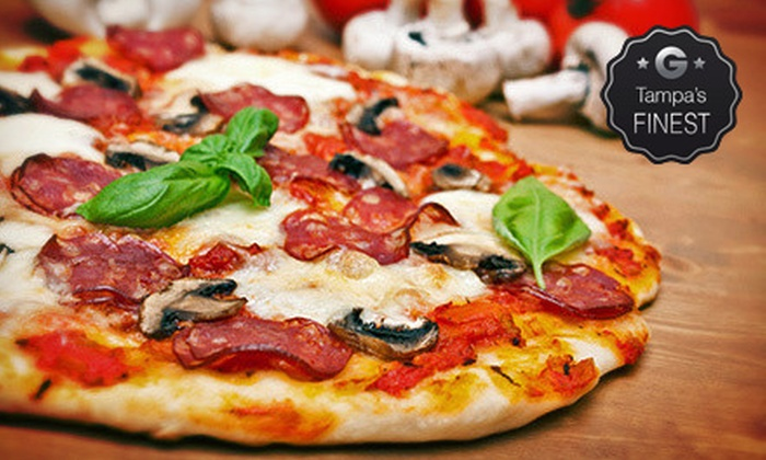 La Pizza Mia Pizzeria - Largo: Italian Food for Lunch or Dinner or a Pizzeria Meal for Two at La Pizza Mia Pizzeria (Up to 53% Off)