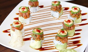 EJ Sushi: Sushi for Lunch of Dinner at EJ Sushi (Up to 48% Off)