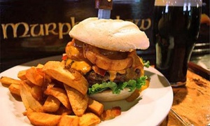 Murphy's Law: $25 for $40 Worth of Irish & American Fare for Lunch or Dinner at Murphy's Law