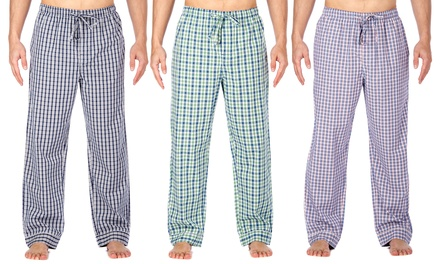 Noble Mount Men's Premium Bamboo Sleep Pants with Pockets