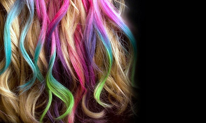 Colorful Hair Chalk: Colorful Hair Chalk