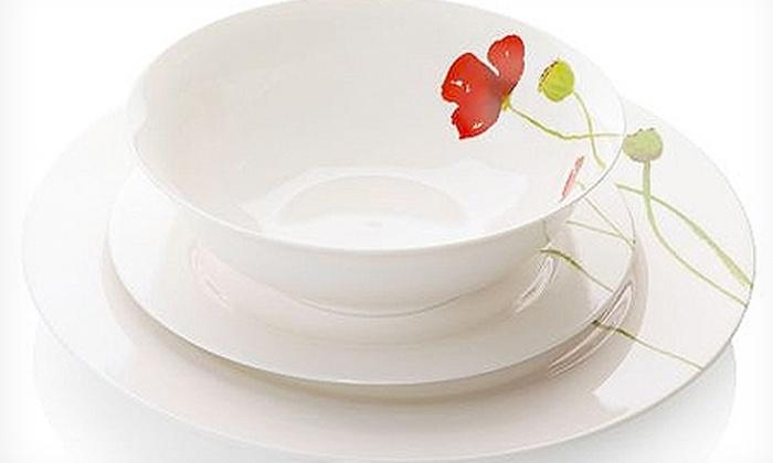 12-Piece Dinner Set | Groupon Goods