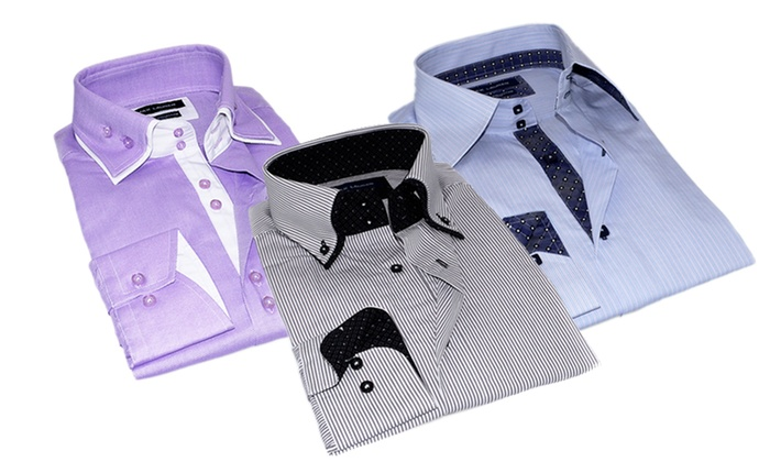 Max Lauren Special Edition Men's Light Dress Shirts: Max Lauren Special Edition Men's Light Dress Shirts. Multiple Designs Available. Free Shipping and Returns.