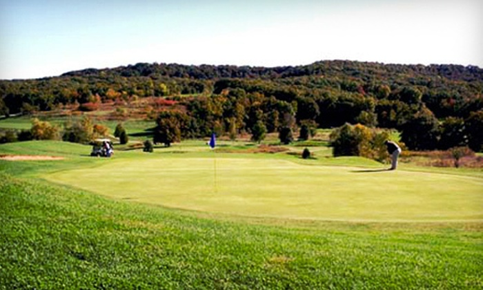 Sun Valley Golf Course St. Louis - Burr Oak: Weekday or Weekend Round of Golf with Range Balls for Four at Sun Valley Golf Course in Elsberry (Up to Half Off)