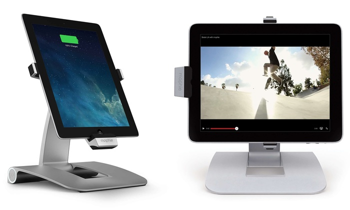 mophie powerstand docking station for 30 pin ipads mfr refurb groupon. Black Bedroom Furniture Sets. Home Design Ideas