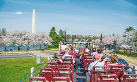 Sightseeing Bus Tour of Washington D.C. with Wax Museum Visit for 1 or 2 with Big Bus Tours (Up to 51% Off)