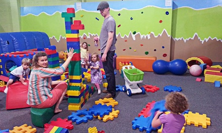 Indoor-Playground Visit for Two Children with Water or Juice at HippoHopp (Up to 46% Off)