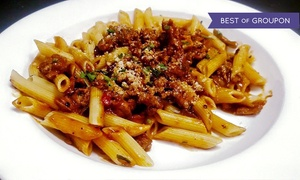 Brooklyn Bistro: Italian Dinner for Two at Brooklyn Bistro (Up to 38% Off)