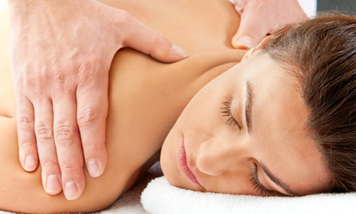 Aora Salon & Spa - North Orange: $95 for Spa Package with Massage, Facial, and Mani-Pedi at Aora Salon & Spa ($200 Value)