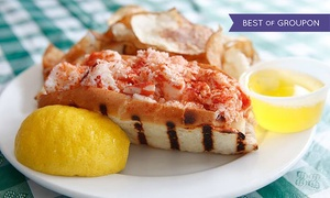 New England Seafood Company Restaurant and Fish Market: Seafood Dinner for Two or Four or More at New England Seafood Company Restaurant and Fish Market (40% Off)