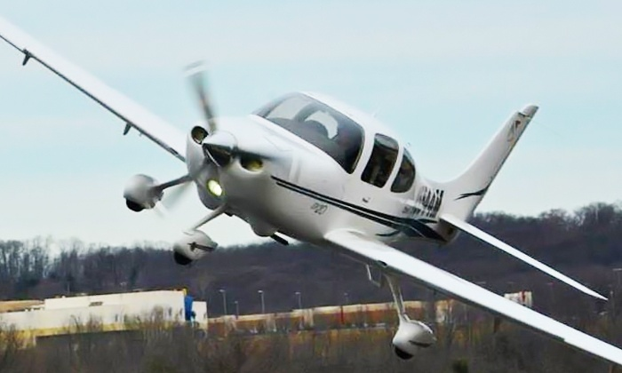 Fly Elite - Multiple Locations: 30- or 60-Minute Hands-On Flying Lesson for One Person at Fly Elite (Up to 48% Off)