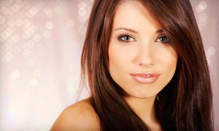 SMS Colour at Salons by JC - Uptown Broadway: One or Two Brazilian Blowouts at SMS Colour at Salons by JC (Up to 76% Off)