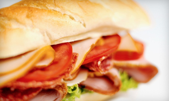 Chubby's - Crescent Ponds: Sandwiches for Four, or 10 Sandwiches for One at Chubby's in Coon Rapids (Up to 53% Off)