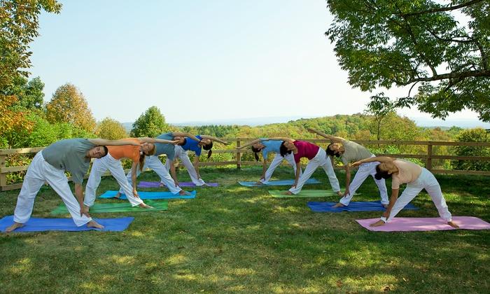 Sivananda Ashram Yoga Ranch - Fallsburg: Two-Night Catskills Yoga Retreat for One or Two at Sivananda Ashram Yoga Ranch (Up to 51% Off)