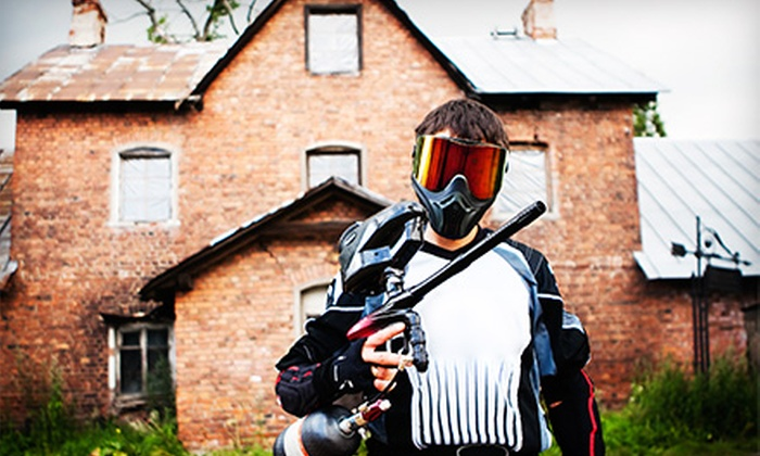CPX Sports - Joliet: Paintball for Two, Four, or Eight with Marker, Paintballs, and Gear at CPX Sports in Joliet (Up to 70% Off)