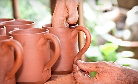 One, Two, or Four BYOB Ceramics Classes at The ClayGround Studio & Gallery (Up to 57% Off)