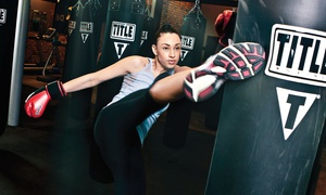 TITLE Boxing Club- Rowlett: $19 for Two Weeks of Boxing and Kickboxing Classes with Hand Wraps at TITLE Boxing Club ($55 Value)