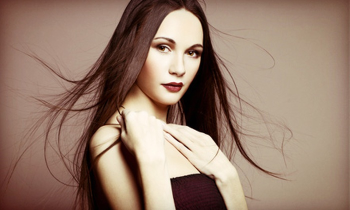 Arco Hair Company - Forest Park Southeast: One or Two Keratin Straightening Treatments at Arco Hair Company (Up to 53% Off)