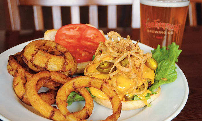 Frankenmuth Brewery - Frankenmuth: $26 for a Case of Twisted Helles Beer and $15 Worth of Pub Food at Frankenmuth Brewery ($47.39 Value)