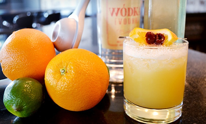 Quench - North Potomac: Cocktails and Small Plates for Two or Four or Mixology Class for One at Quench (Up to 55% Off)