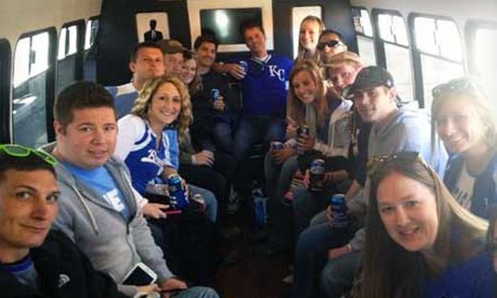 Boss Services - Multiple Locations: Royals, Chiefs, and Sporting KC Tailgate Packages with Transportation and Ticket (Up to 50% Off). 16 Options Available.