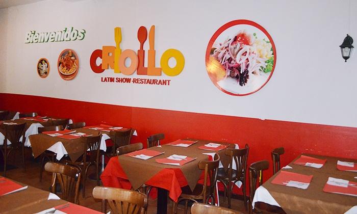 Criollo Latin Show Restaurant - Milano: Menu peruviano con dolce e birra per 2 o 4 persone da Criollo Latin Show Restaurant, zona Loreto (sconto fino a 64%)