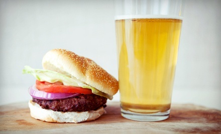 Pub Fare or Burgers and Beer for Four at Miller's Corner Bar and Grill (Up to 52% Off)