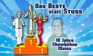 """Showbühne Mainz: 2 oder 4 Eintrittskarten für die Komödie """"Das Beste statt Stuss"""" in der Showbühne Mainz (50% sparen*)"""
