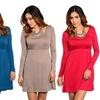 Long-Sleeve Short Dresses