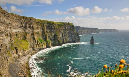 ✈ 8-Day Ireland Vacation with Airfare and Rental Car from Great Value Vacations. Price/Person Based on Double Occupancy.