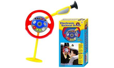 Backseat Steering Wheel