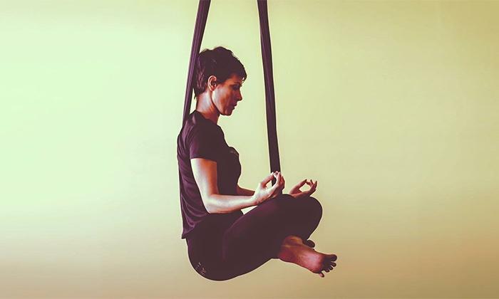 Aerial Yoga Houston - Washington Avenue - Memorial Park: One, Five, or Ten Aerial Yoga Classes at Aerial Yoga Houston (Up to 44% Off)