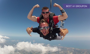 Lone Star Parachute Center: $134 for a Tandem Skydive from Lone Star Parachute Center ($229 Value)