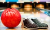 Tech City Bowl - Bridle Trails: One or Two Hours of Bowling with Shoe Rentals for Two at TechCity Bowl in Kirkland (Up to 53% Off)