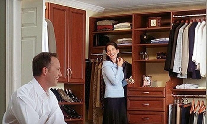 60% Off Closet Makeover Or Remodeling Project