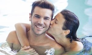 L'Isola del Benessere: Percorso Spa di coppia con massaggio, gommage e aperitivo al centro L'Isola del Benessere (sconto fino a 75%)