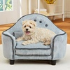 Corduroy Furniture-Style Pet Bed