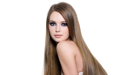 Lissage brésilien avec un soin à 79,90 € chez Evelyne coiffure