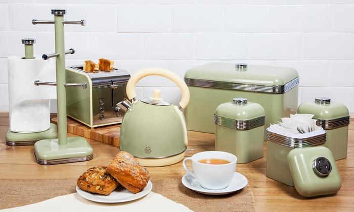 Retro Tabak Keukens : Retro style 7 piece kitchen set groupon goods