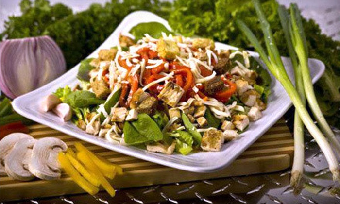 Muscle Maker Grill - Multiple Locations: $10 for $20 Worth of Healthy Grilled Food at Muscle Maker Grill