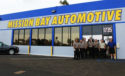 One, Two, or Three Oil Changes with Tire Rotations and a Check-Up at Mission Bay Automotive (Up to 68% Off)