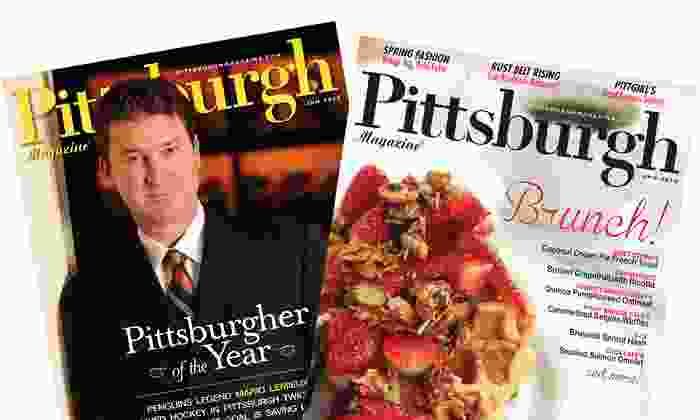 "Pittsburgh Magazine: One- or Two-Year Subscription with City Guides from ""Pittsburgh Magazine"" (Up to 52% Off)"