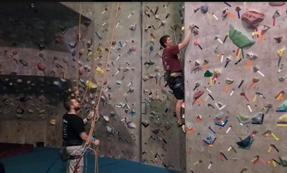 Climber Package for One, Two, or Four People at <strong>Rock</strong> Gem <strong>Climbing</strong> Center (Up to 47% Off)